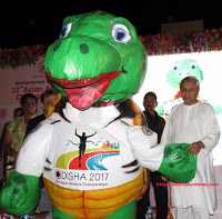 Olive Ridley to be mascot of Asian Athletics Championships