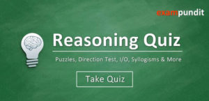 Reasoning Quiz - Puzzle