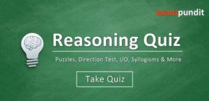 Reasoning Quiz - Puzzle