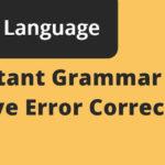 important grammar rules