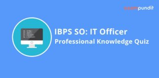 IBPS SO IT Officer Professional Knowledge