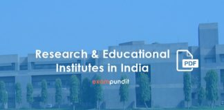 Research & Educational Institutes in India