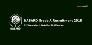 NABARD Grade A 2018