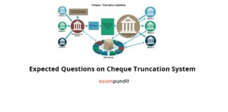 Expected Questions on Cheque Truncation System