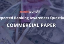 Expected Questions on Commercial Paper
