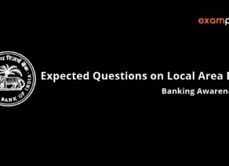 Expected Questions on Local Area Banks