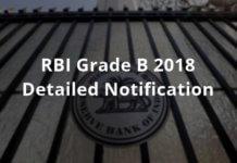RBI Grade B 2018