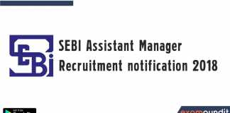 SEBI Assistant Manager Recruitment notification 2018