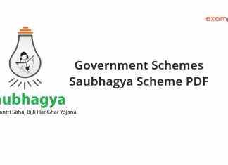 Government Schemes Saubhagya Scheme