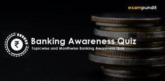 Banking Awareness Quiz 2019