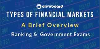 Types of Financial Markets