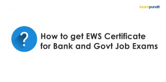 How to get EWS Certificate for Bank and Govt Job Exams