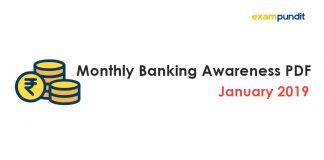 Monthly Banking Awareness PDF January 2019