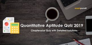 Quantitative Aptitude Quiz 2019