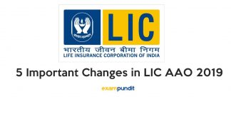 5 Important Changes in LIC AAO 2019
