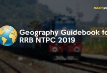 Geography Guidebook PDF for RRB NTPC 2019