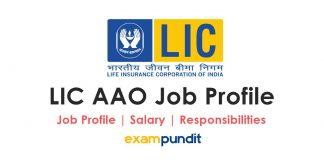 LIC AAO Job Profile