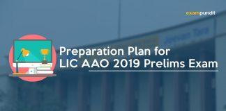 Preparation Plan for LIC AAO 2019 Prelims Exam