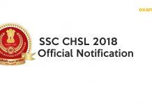 SSC CHSL 2018