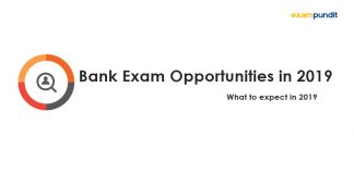 Bank Exam Opportunities in 2019