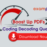 Coding and Decoding Questions and Answers PDF