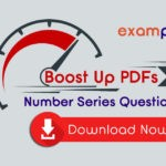 Number Series Questions PDF