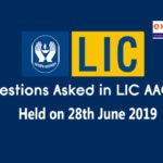 GK Questions asked in LIC AAO Mains