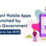 Important Mobile Apps launched by Indian Government