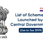 List of Schemes Launched by Central Government