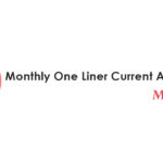 Monthly One Liner Current Affairs PDF May 2019