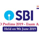 SBI PO Prelims Exam Analysis
