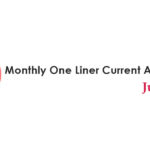 Monthly One Liner Current Affairs PDF June 2019