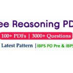Reasoning Questions PDF