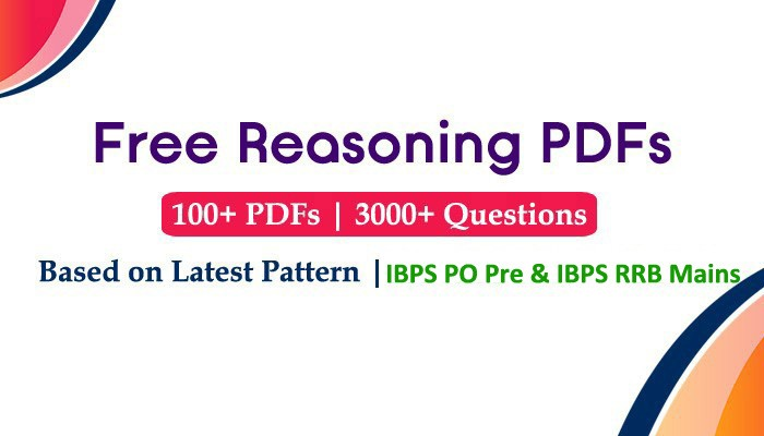 Reasoning Questions and Answers PDF for Bank Exams – Free