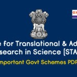 Scheme for Translational and Advanced Research in Science