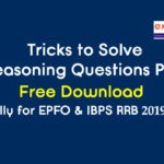 Tricks to Solve Reasoning Questions PDF