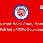 EPFO Assistant Study Material PDF