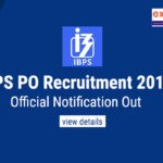 IBPS PO 2019 Notification PDF