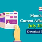 Monthly Current Affairs PDF July 2019