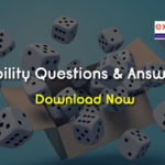 Probability Questions and Answers PDF