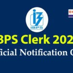 IBPS Clerk 2020 Official Notification Out