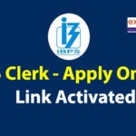 IBPS Clerk Apply Online 2020