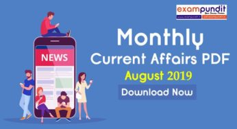 Current Affairs Today 5th September 2019-Download in PDF