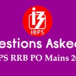 GK Questions Asked in IBPS RRB PO Mains 2019