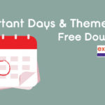 Important Days and Themes 2019 PDF