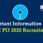 Important Information About SBI PO 2020 Recruitment