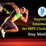 Important Information for IBPS Clerk 2019 Aspirants