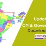 Updated Chief Ministers and Governors of Indian States