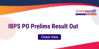 IBPS PO Prelims Result Out 2019