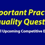 Inequality Questions and Answers PDF Download